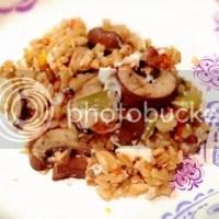 Recipe ReDux: One-Pot Mushroom Veggie Rice [sponsored]