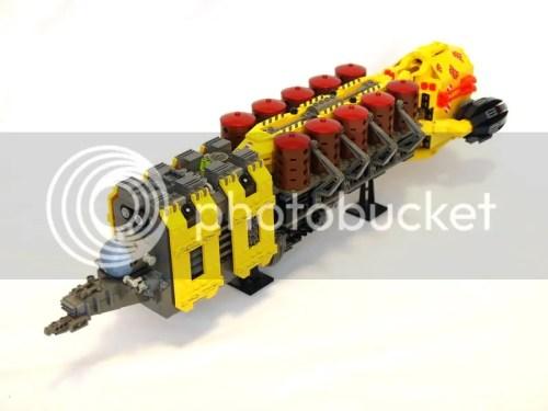 LEGO microscale transporter