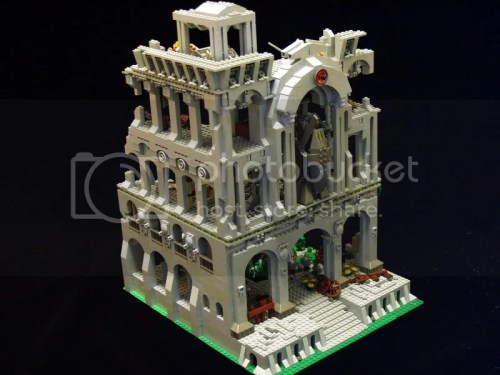 Ruined LEGO castle