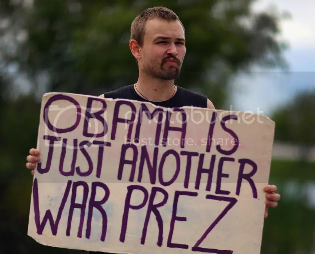 Obama's Image as a War President