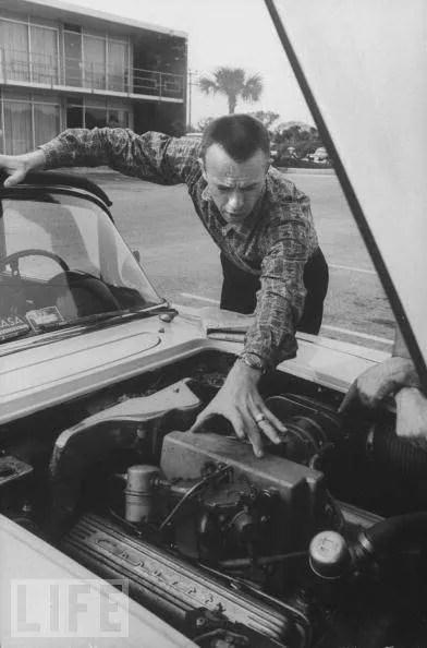 Alan Shepard Corvette Stringray