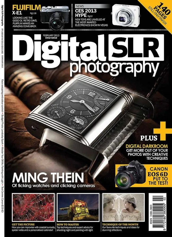 Interview with Ming Thein for DigitalSLR Photography Magazine