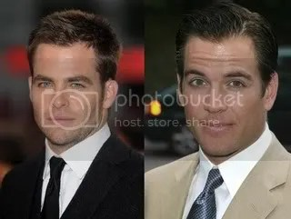 Chris Pine vs. Michael Weatherly