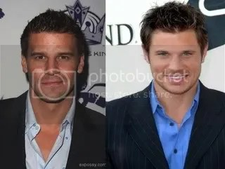 David Boreanaz and Nick Lachey