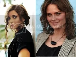 Nelly Furtado and Emily Deschanel