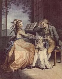 Werther e sua amada Lotte