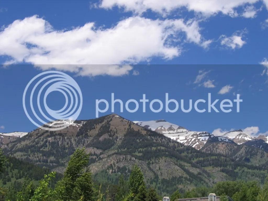 Grand Teton Peaks 1