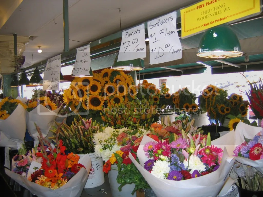 So many flower stands