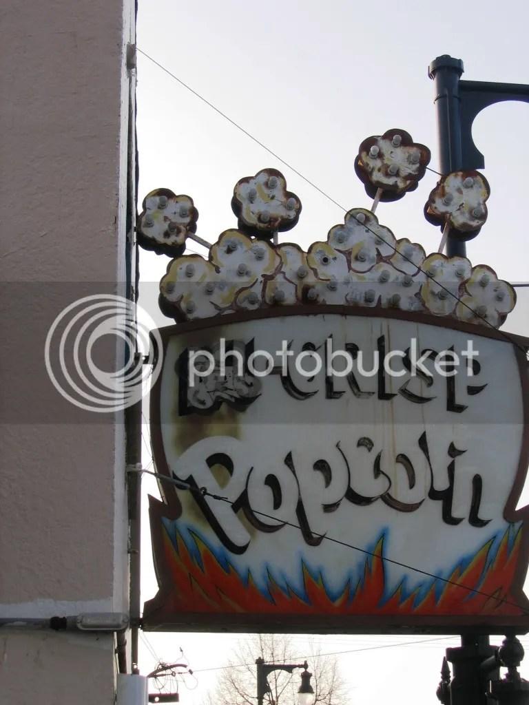 Nu-Crisp Popcorn Sign