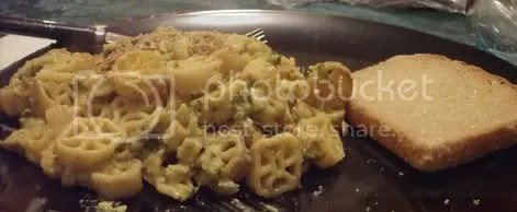 broccoli cheese pasta meal 02