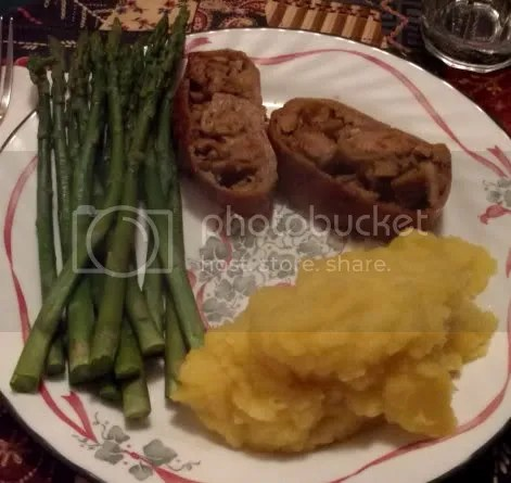 vegan christmas eve meal 01