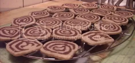 pinwheel cookies done