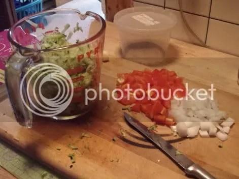 quesadilla prep