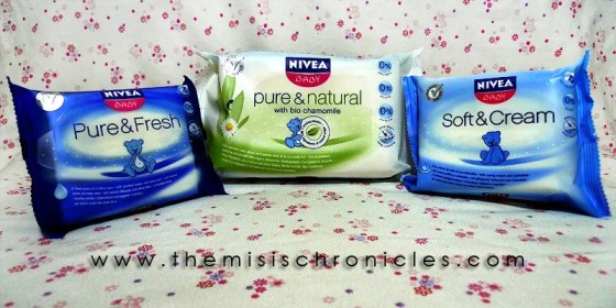 Nivea Baby wipes