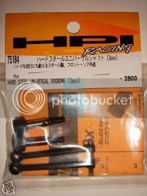 HPI Steel Dogbones