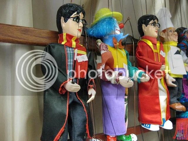 Prague - Puppets