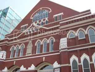 Ryman Auditorium, 8-14-07