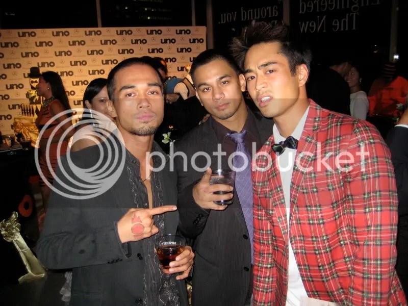 Handsome Boys: Marc Abaya, Mark Reyes & Mine truly! haha
