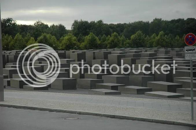 Berlim - Monumento às vítimas da II Guerra Mundial