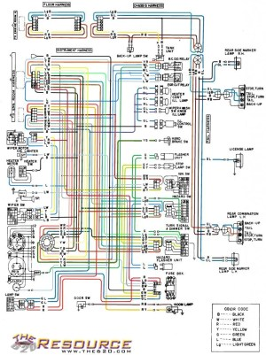 color coded wiring diagram  620  Ratsun Forums