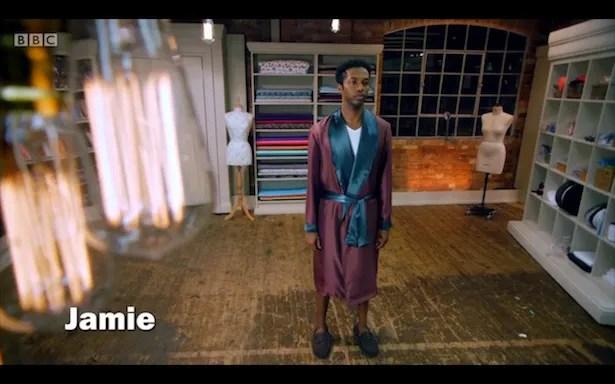 Jamie's robe