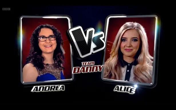 Andrea vs Alice