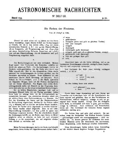 the first page of Osthoff article
