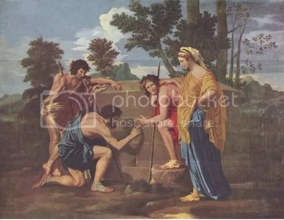 Et in Arcadia ego- Nicolas Poussin