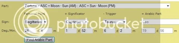 Argolis calculation of PoF