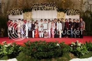 resepsi pernikahan ida agung bandung 2005