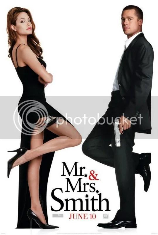 poster film mr. & mrs. smith