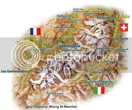 Mont Blanc Ultra trail