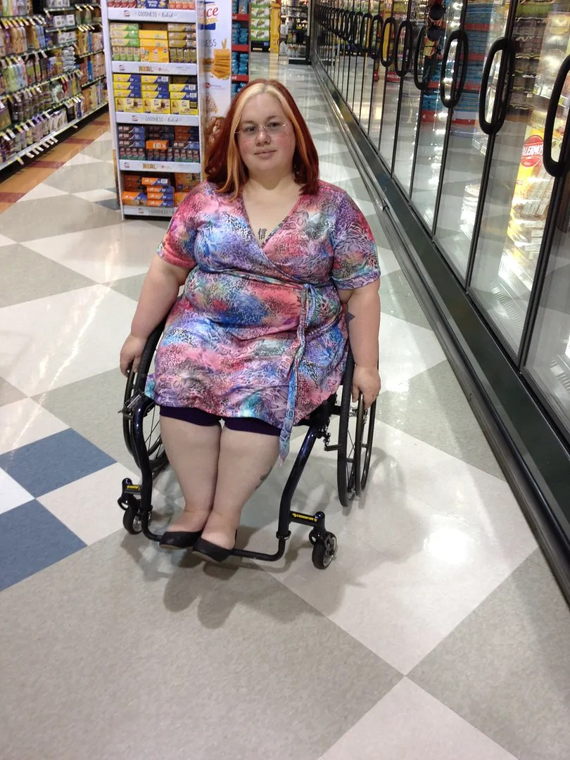 plus size rainbow leopard dress wheelchair fashion
