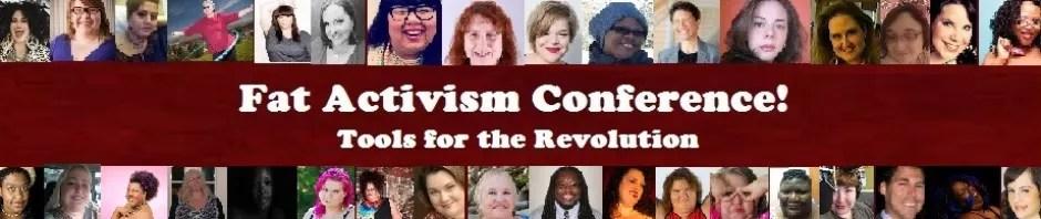 fat activism conference banner
