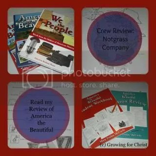 Notgrass American the Beautiful curricula review