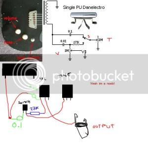 Danelectro 1hbtone Wiring Help  Electronics Chat