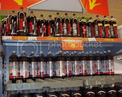 Coke Bottles in England