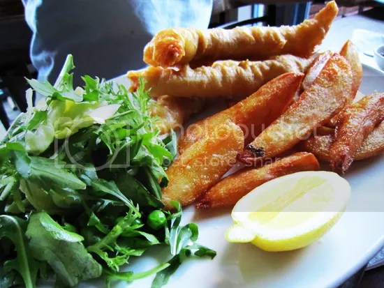 Station Hotel, Fish and Chips