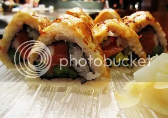 Koko- volcano sushi