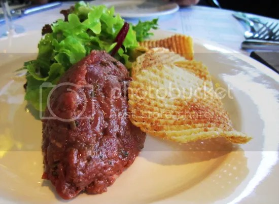 Bistro Guillaume- beef tartare