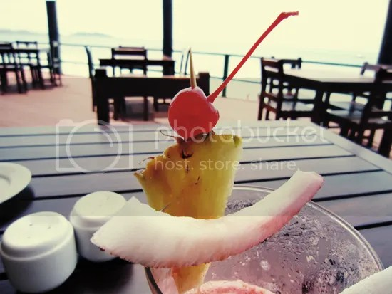 Cocktails on Mana Island, Fiji