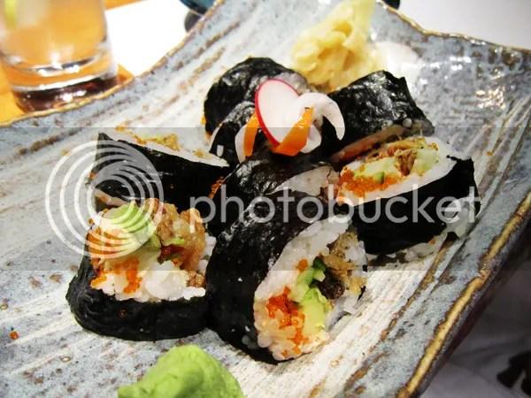 Salmon Skin sushi from Koko Japanese Restaurant