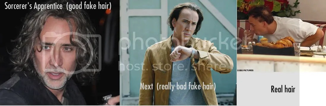 Nicolas Cage Fake Hair