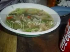 Tom Yam Soup.