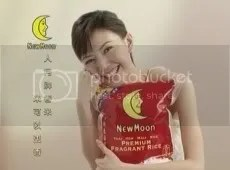 Stefanie Sun New Moon Premium Fragrant Rice Ad 14.