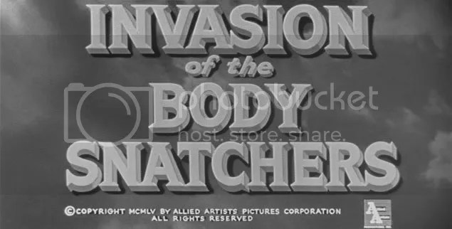 1956's Invasion of the Body Snatchers, directed by Don Siegel