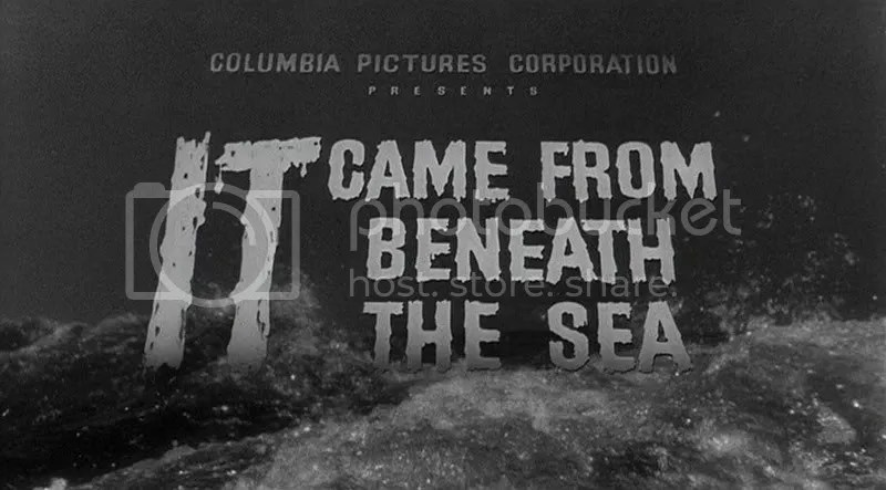 1955's It Came from Beneath the Sea, directed by Robert Gordon