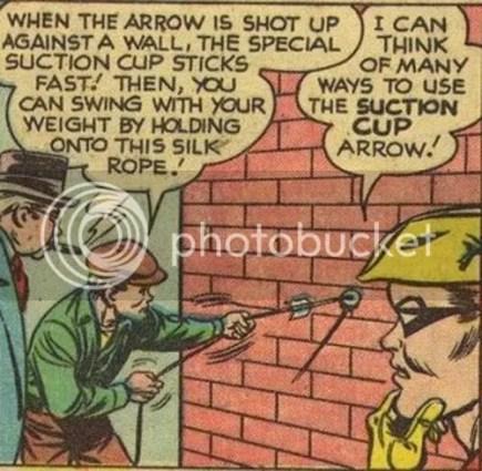 green arrow sucks