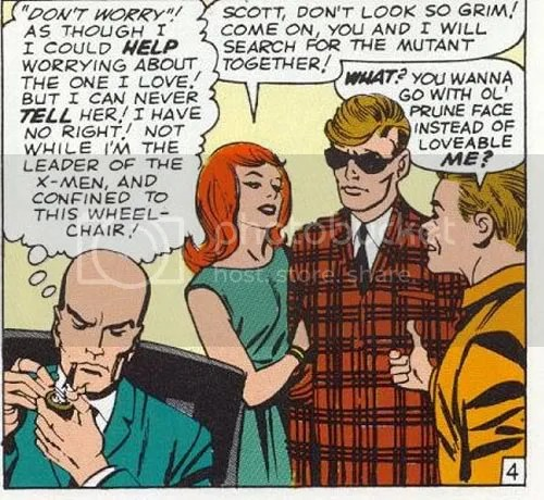 It's from one of the real early X-Men