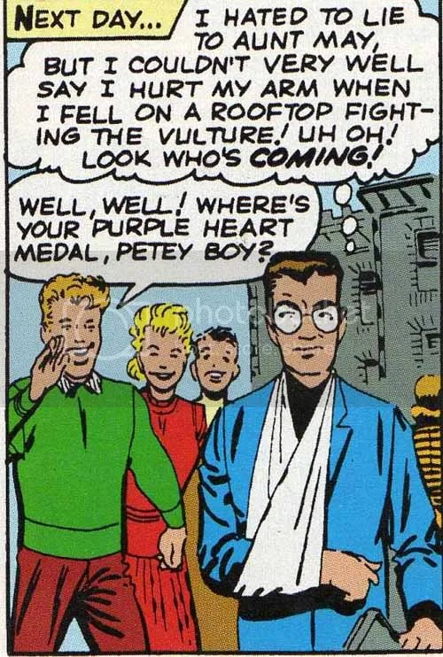 Knock him out Peter!
